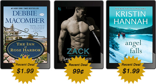 RECENTLY LISTED EBOOK DEALS! *MAY NOT REFLECT CURRENT PRICE