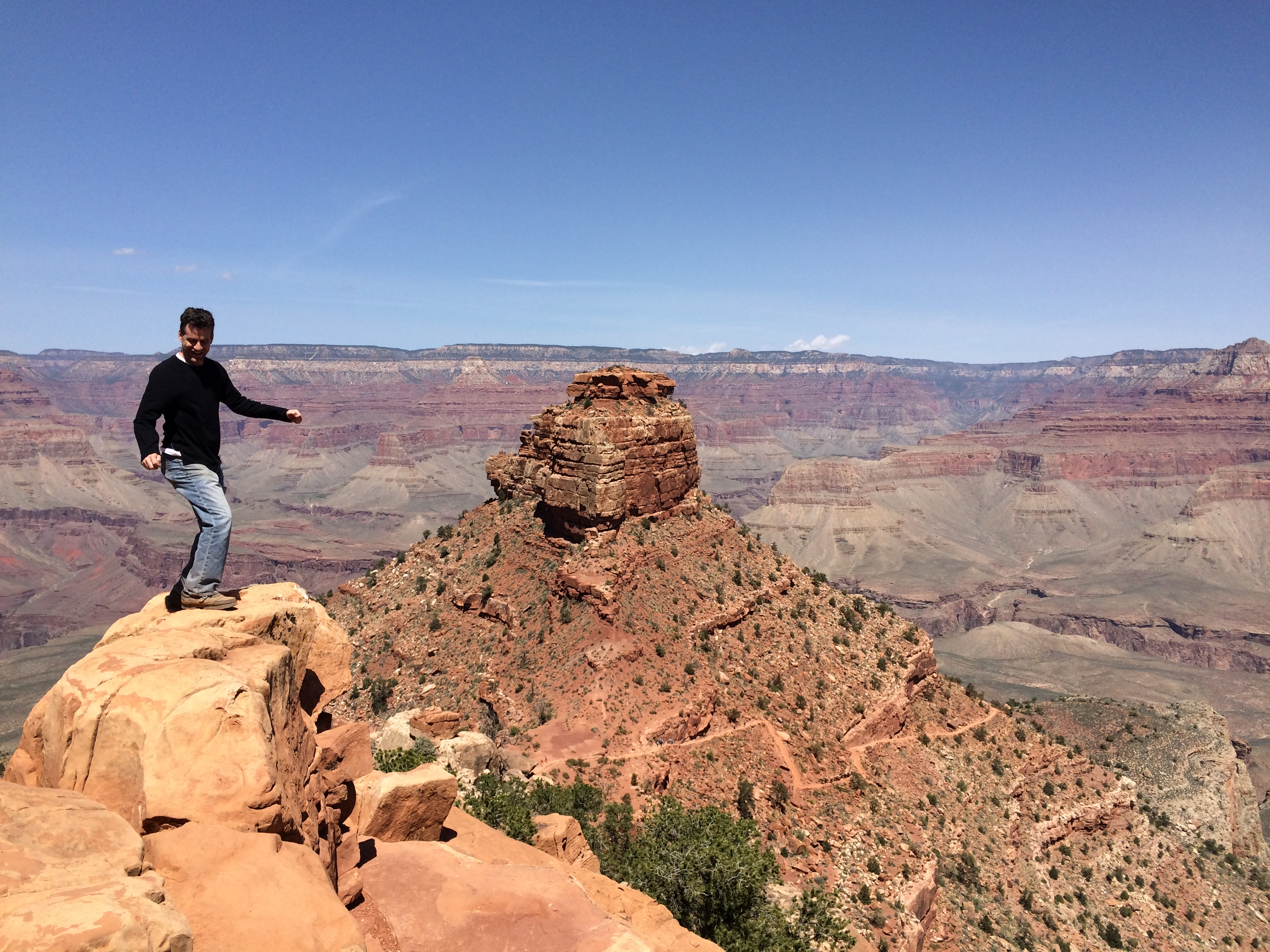 Just off the South Kaibab Trail in the Grand Canyon.