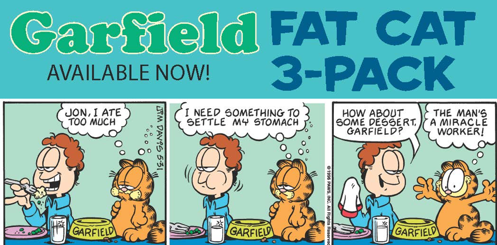 10 Times Garfield Proved Food Is Life Random House Books
