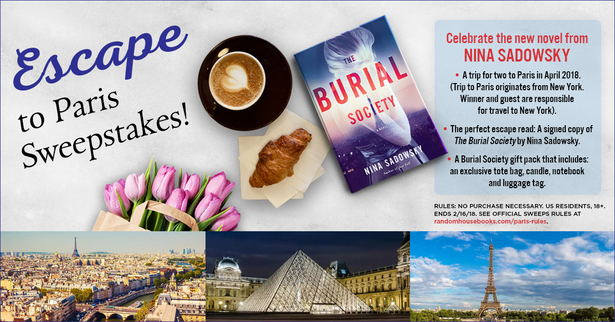 Escape to Paris Giveaway