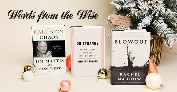 Holiday Gift Guide: Words from the Wise